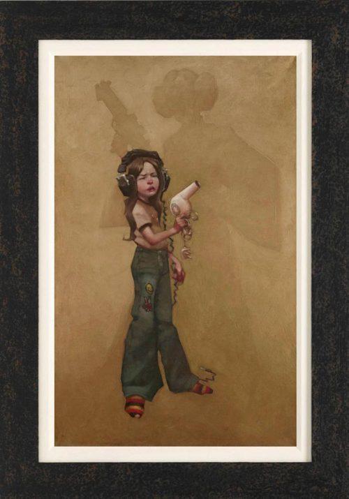 Armed-Force-framed-canvas-by-Craig-Davison