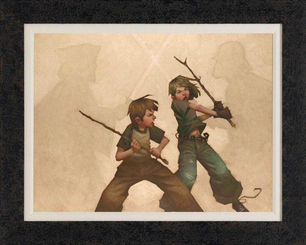 Wooossh-Jhoooom-framed-canvas-by-Craig-Davison